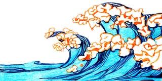 θάλασσα διανυσματική απεικόνιση