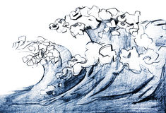 Θάλασσα απεικόνιση αποθεμάτων