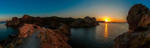 Θάλασσα andscape Κριμαία φύσης ομορφιάς Στοκ φωτογραφία με δικαίωμα ελεύθερης χρήσης