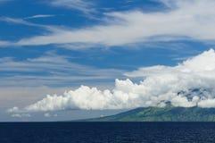 θάλασσα API flores gunung Ινδονησία Στοκ Φωτογραφία