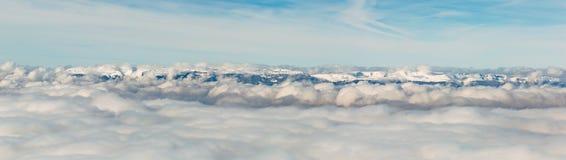 Θάλασσα Jura των σύννεφων Στοκ Φωτογραφία
