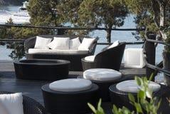 θάλασσα patio Στοκ εικόνα με δικαίωμα ελεύθερης χρήσης