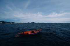 Θάλασσα scape στην Ταϊλάνδη στοκ φωτογραφία