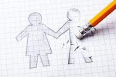 Θάνατος του αγαπημένου ατόμου συζύγων ` s, χήρα Απώλεια αγαπημένη μια Διαζύγιο και χωρισμός των σχέσεων στοκ φωτογραφία με δικαίωμα ελεύθερης χρήσης