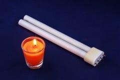 Θάνατος Fluoresent στοκ εικόνα με δικαίωμα ελεύθερης χρήσης