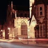Θάψτε τη σκηνή νύχτας του ST Edmunds στοκ φωτογραφίες με δικαίωμα ελεύθερης χρήσης