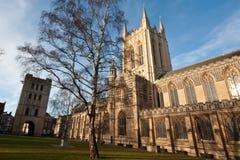 θάψτε τον καθεδρικό ναό edmunds ST στοκ εικόνες με δικαίωμα ελεύθερης χρήσης