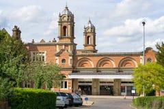 Θάψτε το σταθμό τρένου του ST Edmunds στοκ φωτογραφία