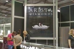 Θάλαμος εργοστασίων κοσμήματος διαμαντιών Arista Στοκ φωτογραφίες με δικαίωμα ελεύθερης χρήσης