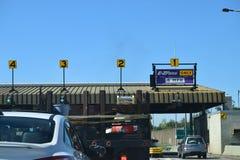 Θάλαμος φόρου ε-ZPass στη Νέα Υόρκη Στοκ φωτογραφίες με δικαίωμα ελεύθερης χρήσης