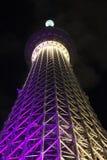 θάλαμος TV δέντρων πύργων του Τόκιο sumida ουρανού 634 τοποθετημένος μετρητών στοκ φωτογραφία με δικαίωμα ελεύθερης χρήσης