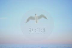 Θάλασσα †‹â€ ‹της αγάπης †‹â€ ‹ στοκ φωτογραφία με δικαίωμα ελεύθερης χρήσης