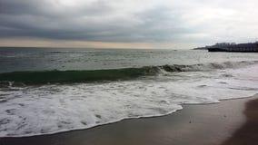 θάλασσα †‹â€ ‹το χειμώνα Στοκ εικόνα με δικαίωμα ελεύθερης χρήσης