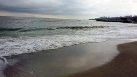 θάλασσα †‹â€ ‹το χειμώνα Στοκ Φωτογραφίες