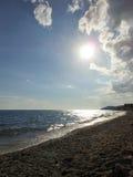 θάλασσα άμμου Στοκ εικόνα με δικαίωμα ελεύθερης χρήσης