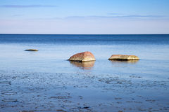 Θάλασσα άνοιξη Στοκ Φωτογραφία