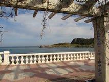 θάλασσα άποψης στοκ εικόνα με δικαίωμα ελεύθερης χρήσης