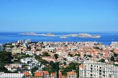 θάλασσα;; άποψη από την Ιταλία Στοκ εικόνα με δικαίωμα ελεύθερης χρήσης