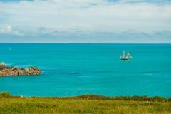 Θάλασσα ένας ουρανός Στοκ εικόνες με δικαίωμα ελεύθερης χρήσης