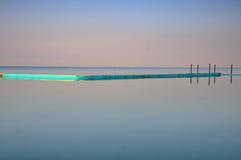 Θάλασσα, λίμνη και βάρκα Στοκ Εικόνα