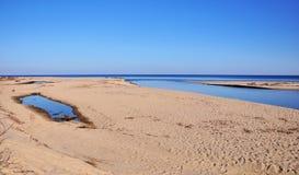 θάλασσα ακτών Στοκ Εικόνα