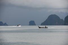 Θάλασσα Ανταμάν κοντά στο νησί Ταϊλάνδη Phuket Στοκ Εικόνες