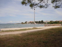 Θάλασσα από Zadar Kroatia Στοκ εικόνες με δικαίωμα ελεύθερης χρήσης