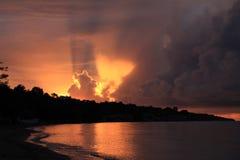 θάλασσα αυγής Στοκ Εικόνα