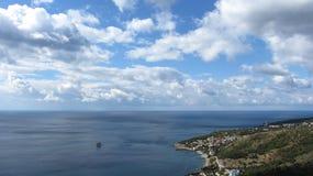 Θάλασσα, βουνά Στοκ Εικόνες