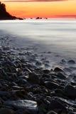 θάλασσα βράχων ΘΕΡΙΝΟ τοπίο Στοκ φωτογραφίες με δικαίωμα ελεύθερης χρήσης