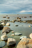 θάλασσα βράχων Στοκ Εικόνα