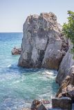 θάλασσα βράχων στοκ εικόνες με δικαίωμα ελεύθερης χρήσης