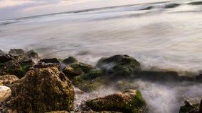θάλασσα βράχων Στοκ Φωτογραφία