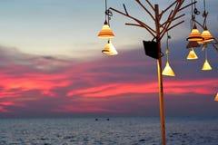 Θάλασσα βραδιού Στοκ Φωτογραφία