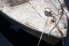 Θάλασσα Βρώμικη βάρκα Στοκ Εικόνα
