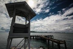 θάλασσα γεφυρών Στοκ φωτογραφίες με δικαίωμα ελεύθερης χρήσης