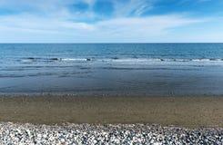 Θάλασσα εδάφους και ωκεάνιο υπόβαθρο Στοκ Φωτογραφίες