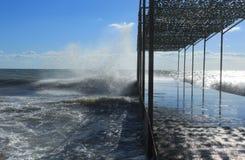 θάλασσα θυελλώδης Στοκ φωτογραφίες με δικαίωμα ελεύθερης χρήσης