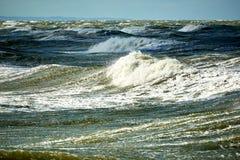 θάλασσα θυελλώδης Στοκ Φωτογραφία
