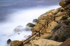 θάλασσα θυελλώδης Στοκ φωτογραφία με δικαίωμα ελεύθερης χρήσης