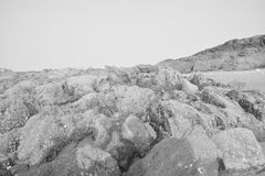 Θάλασσα, θύελλα, πρόσωπο Στοκ φωτογραφία με δικαίωμα ελεύθερης χρήσης