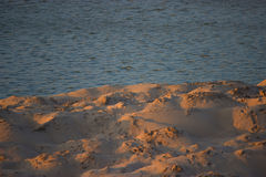 Θάλασσα και άμμος Στοκ Φωτογραφία