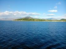 Θάλασσα και έδαφος Στοκ Εικόνα