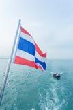 Θάλασσα και βάρκα της Ταϊλάνδης phuket Στοκ Φωτογραφία
