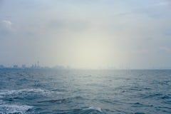 Θάλασσα και ηλιοφάνεια Στοκ εικόνες με δικαίωμα ελεύθερης χρήσης
