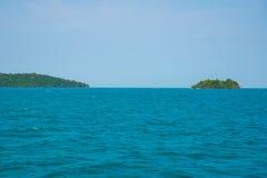 Θάλασσα και νησιά στην Καμπότζη Στοκ Φωτογραφίες