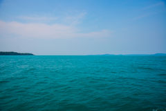 Θάλασσα και νησιά στην Καμπότζη Στοκ Φωτογραφία