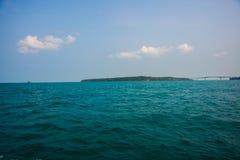 Θάλασσα και νησιά στην Καμπότζη Στοκ εικόνα με δικαίωμα ελεύθερης χρήσης