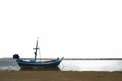 Θάλασσα και ουρανός βαρκών Στοκ εικόνες με δικαίωμα ελεύθερης χρήσης