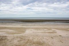 Θάλασσα και ουρανός παραλιών πρωινού Στοκ φωτογραφίες με δικαίωμα ελεύθερης χρήσης